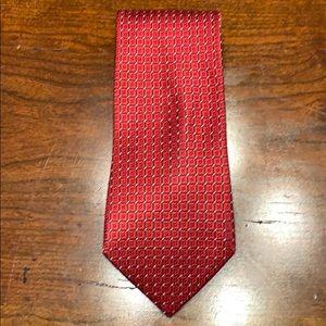 Nautica silk tie. Made in USA